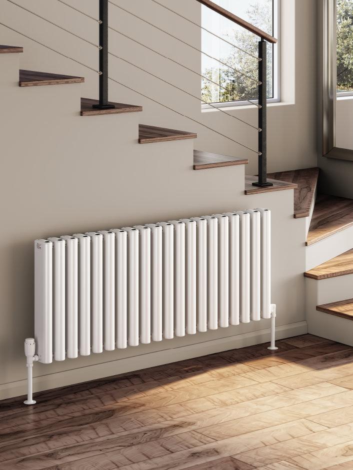 Alco Horizontal aluminium radiator