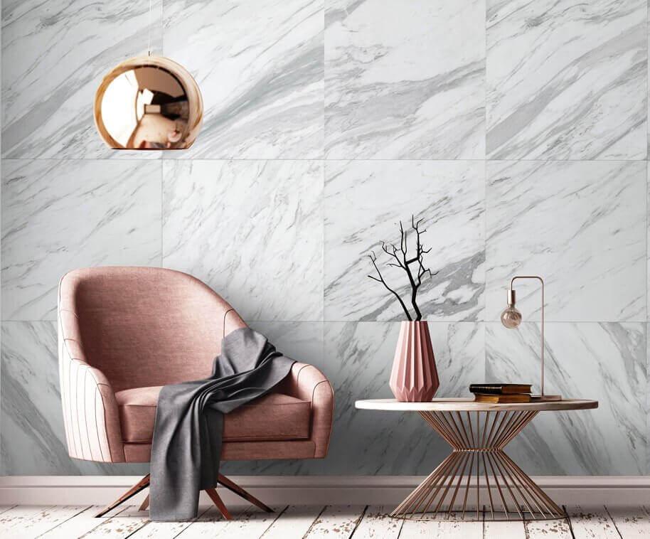 Prem marbre tile 2,60 m x 0,50 cm x 8mm