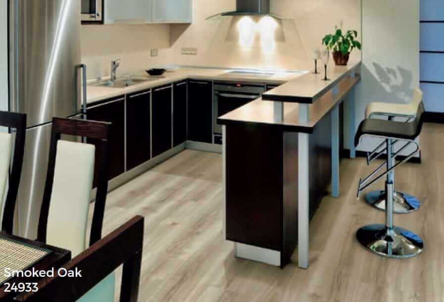 smoked oak clever click flooring